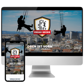 Webdesign Wien für Industriekletterer